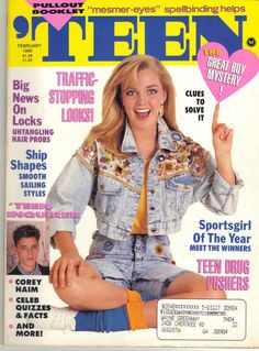1990 early fashion, 15 year old boy, old magazines, vintage magazines, Early 90s Fashion, 90s Fashion Grunge, Old Magazines, Vintage Magazines, Magazine Seventeen, Vintage Outfits, Vintage Fashion, 80s Aesthetic, Cover