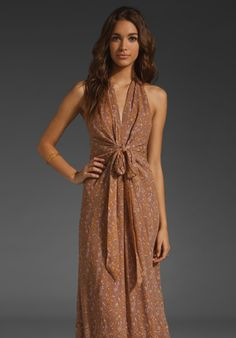 Winter Kate maxi dress.. lovely for a casual summer day