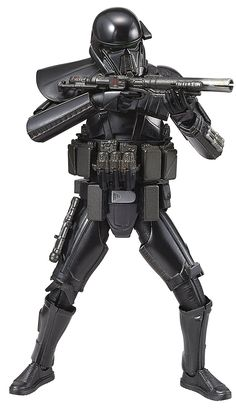 BANDAI STAR WARS ROGUE ONE 1/12 scale DEATH TROOPER Plastic Model Kit: Amazon.co.uk: Toys & Games
