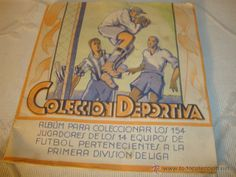 Antiguo y raro ALBUM FUTBOL original - Colección deportiva 1943 - Germán Torregrosa - Novelda LOT200