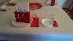 American girl table setting