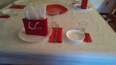 American girl table setting