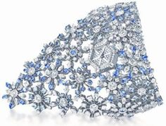 Piaget Relogio Bracelete 361 diamantes e 163 safiras