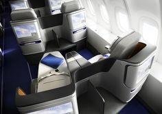 Lufthansa Business Class seats - Design PearsonLloyd