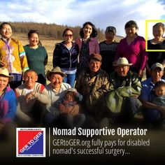 """News Update! In late 2016/17 – www.GERtoGER.org returns the """"gift of life"""" by 100% financing the entire hip-replacement surgery/rehabilitation of anomad; today he's successfully maintaining his nomadic lifestyle, family and children.  #GERtoGER #Travel #Mongolia #usa #eu #london #berlin #germany #france #italy #uk #australia #canada #toronto #asia #gym #fitness #NATGEO #natgeotravel #instagram #travelingram #photography #filmmaking #expeditions #tripadvisor #lonelyplanet #un #unwto #usun"""