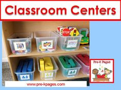 How to create organized and functional centers in your preschool, pre-k, or kindergarten classroom.