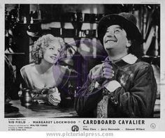 CARDBOARD CAVALIER - Margaret Lockwood and Sid Field. British Comedy, English Actresses, Old Movies, Photo Library, Cavalier, The Man, Love Story, Personality, Film