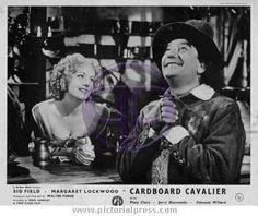 CARDBOARD CAVALIER - Margaret Lockwood and Sid Field.