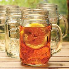 Kearney Mason Jar Drinking Glass (Set of 4)