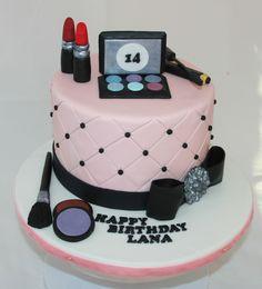 #makeup #cake