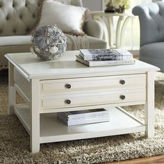 LIATORP Coffee table, white, glass | Liatorp, Organizing and Display