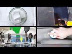 7 DIY Household Cleaners - YouTube