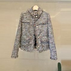 Womens Tweed Jacket  #men #online #newyork #accessories #apparel #skirts #sweaters #clothing #onlineshopping #shopping