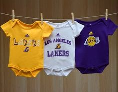 a33bdf8d1 Lakers Infant Rookie Creeper - White