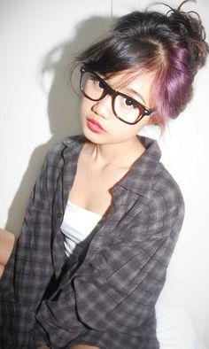 Hair dye <3 Makes me want purple in my hair!