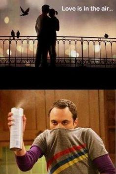 Sheldon against love