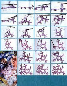 Plantas del Mar en Crochet Tutorial - Patrones Crochet