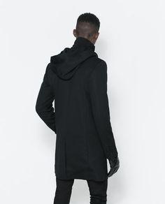 Men's hooded winter coat