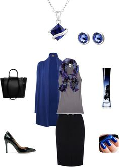 """""""True Winter Dramatic Classic # 14"""" by sm137 on Polyvore"""