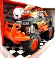 Monster truck toy with lights and sound ages 3+ Lazer Wheels