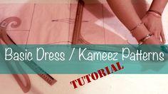 ♥ Basic dress/kameez patterns ☁