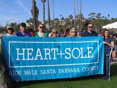 Team Fielding at the 22nd Annual Heart & Sole Aids Walk