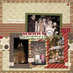 CHA Summer Release: Home For Christmas Layout by Jodi Sanford: