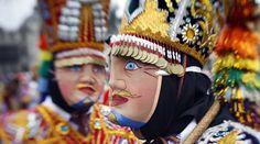 Mascara de la danza , Chonguinada San Jerónimo en el Centro de Lima   El Comercio Peru - Jhabich