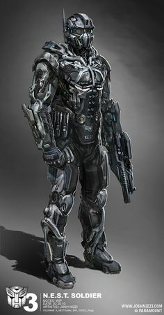 Robot concept art sci fi future soldier 51 Ideas for 2019 Rpg Star Wars, Science Fiction, Foto Fantasy, Combat Armor, Futuristic Armour, Futuristic Helmet, Arte Robot, Future Weapons, Sci Fi Armor