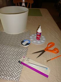 Fabric Covered Lamp Shades