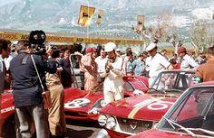 Targa Florio 1967 . Scarfiotti - Vaccarella , Ferrari 330 P3