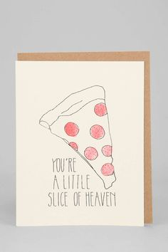 Hartland Brooklyn Slice Of Heaven Card - Urban Outfitters