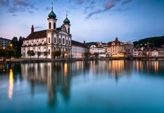 https://flic.kr/p/ajtMPy | Lucerne | Attempt at a dawn HDR shot - five bracketed exposures.