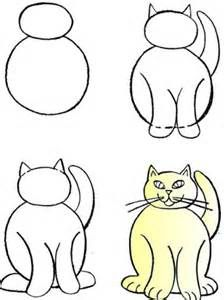 How to draw cats and kittens. Drawing Lessons for kids.