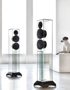Enceintes colonnes #Waterfall Audio Victoria EVO : Élégantes et prestigieuses. #EasyLounge #speaker