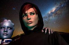 We will find them by on DeviantArt Sara Ryder, Mass Effect Art, Commander Shepard, Sci Fi Fantasy, Dragon Age, Artist, Sirens, Fairy, Fan Art