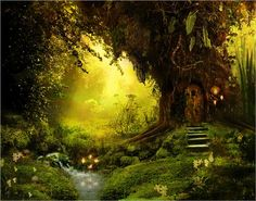 if I were a fairy, I'd live here