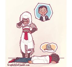 Assassin Training w/ Altaïr Assassins Creed Comic, Assassins Creed Series, Assessin Creed, All Assassin's Creed, Dragon Age, What Is Color Theory, Skyrim, Cry Of Fear, Fandoms