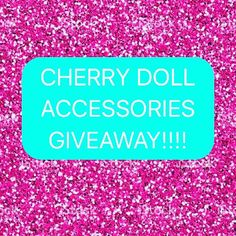 INSTAGRAM GIVEAWAY STILL TIME TO ENTER OUR WORLDWIDE GIVEAWAY! SCREENSHOT AN ITEM THAT YOU\'D LIKE TO WIN FROM cherrydollaccesso... AND TAG #cherrydollaccessories ON THE POST! WINNERS ANOUNCED SUNDAY 10TH SEPTEMBER AEST #giveaway #win #sharephoto #tag #easyas123 #cherrydolltoamerica #afterpayobsession
