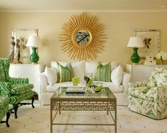 Concept: Use mirrors to create focal point / shift attention in Great Room