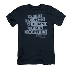 Blues Brothers - Band Back Adult Slim Fit T-Shirt