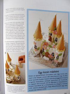 Castle cake 4 Lovely Tutorials, Sugar Cake, Cake Toppers, Album, Desserts, Castle, Handmade, Picasa, Baking