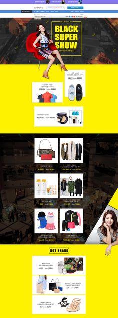 [롯데백화점] BLACK SUPER SHOW Designed by 박지원
