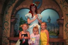Trivia time!  Which of these three girls was forced - kicking and screaming - into meeting the princess?