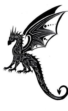 Crouching Dragon by ~Tribalchick101 on deviantART