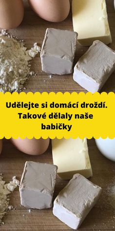 Udělejte si domácí droždí. Takové dělaly naše babičky Slovak Recipes, Czech Recipes, Bread Recipes, Baking Recipes, Sweet Desserts, No Bake Cake, Food Art, Food To Make, Home Canning