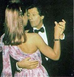 La princesa Carolina y su marido Phillipe Junot en 1978 o 79.