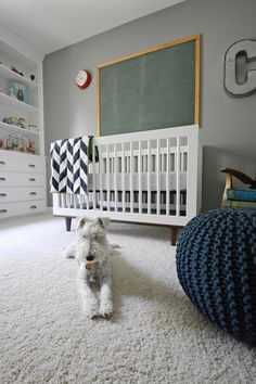 Clark's Nursery: Part 2 — Decor and the Dog