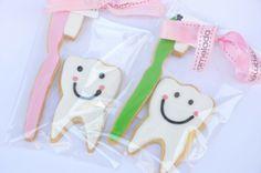 Profesiones y aficiones, #galletas para una #dentista