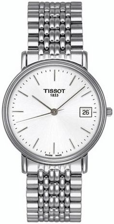 Tissot Watch Old Desire #bezel-fixed #bracelet-strap-steel #brand-tissot #buckle-type-deployment #case-depth-5-85mm #case-material-steel #case-width-34mm #date-yes #delivery-timescale-7-10-days #dial-colour-silver #gender-mens #jura-top-sellers #movement-quartz-battery #official-stockist-for-tissot-watches #packaging-tissot-watch-packaging #subcat-t-classic #supplier-model-no-t52148131 #warranty-tissot-official-2-year-guarantee #water-resistant-30m